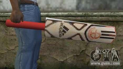Adidas Cricket Bat for GTA San Andreas third screenshot