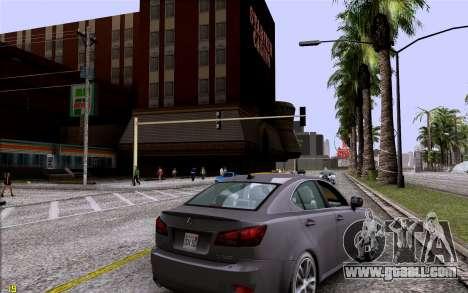 ENB HD CUDA 2014 v1.0 for GTA San Andreas second screenshot