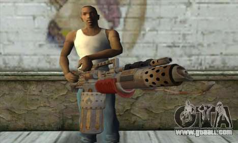 Flamethrower for GTA San Andreas third screenshot
