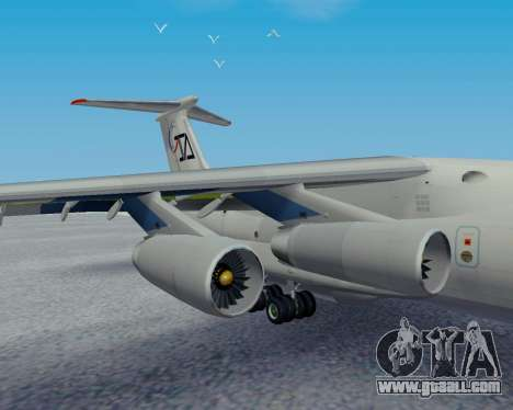 Il-76TD Aviacon zitotrans for GTA San Andreas right view
