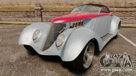 Ford Roadster 1936 Chip Foose 2006 for GTA 4