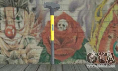 Hammer for GTA San Andreas second screenshot