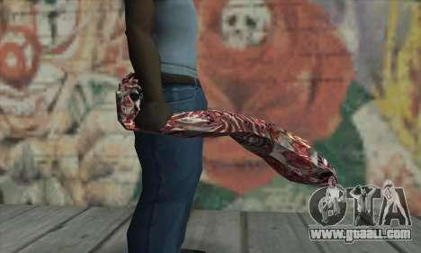 Dead hand for GTA San Andreas third screenshot