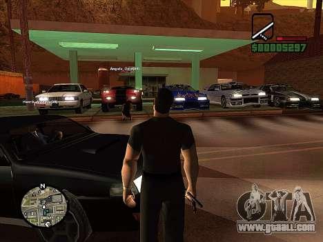 SA-MP 0.3z for GTA San Andreas fifth screenshot