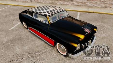Mercury Lead Sled Custom 1949 for GTA 4 upper view