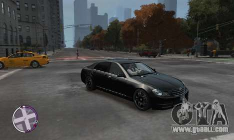 Enus Cognoscenti for GTA 4 back view