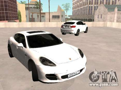 Porsche Panamera 2011 for GTA San Andreas right view