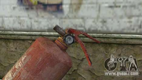 The Old Fire Extinguisher for GTA San Andreas second screenshot