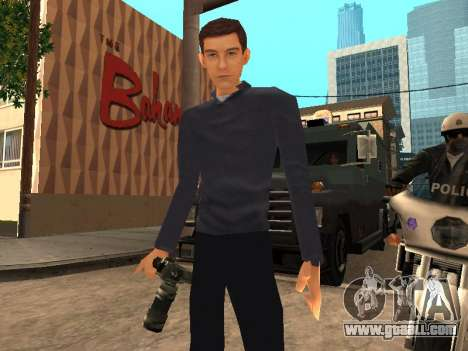 Peter Parker from the game Spider-Man 2 for GTA San Andreas