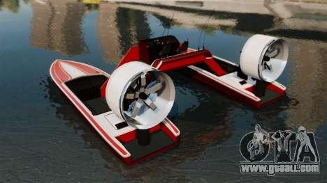Catamaran-Jetmax Aero- for GTA 4 back left view