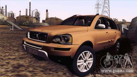 Volvo XC90 2009 for GTA San Andreas left view