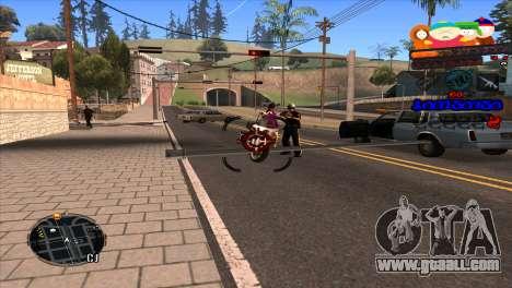 C-HUD South Park for GTA San Andreas third screenshot