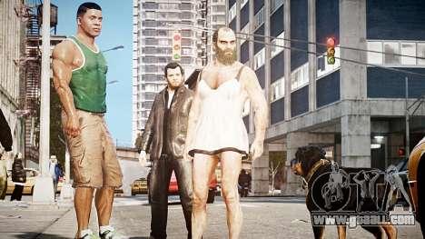 GTA V Trevor Philips for GTA 4 third screenshot