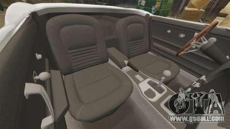 Chevrolet Corvette Stingray for GTA 4 inner view