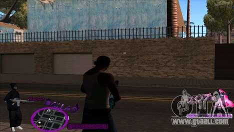 C-HUD Ballas by HARDy for GTA San Andreas second screenshot
