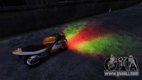Mixed headlights for GTA 4 second screenshot