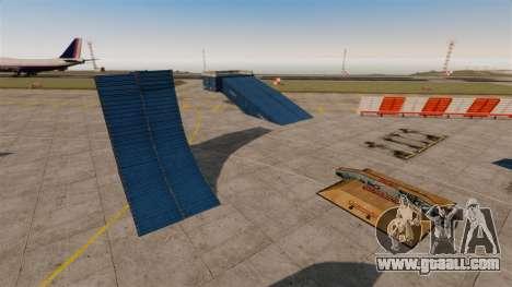 Trick-Park at the airport for GTA 4 third screenshot