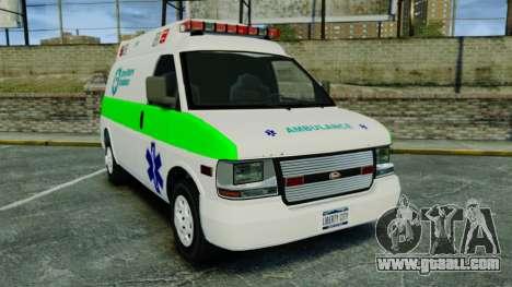 Vapid Speedo Rural Metro EMS [ELS] for GTA 4