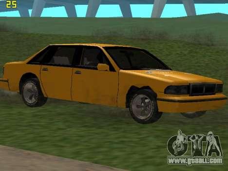 Premier 2012 for GTA San Andreas engine