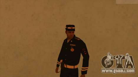 Skins police and army for GTA San Andreas fifth screenshot