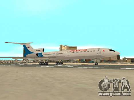 Tu-154 B-2 SCC of Russia for GTA San Andreas inner view