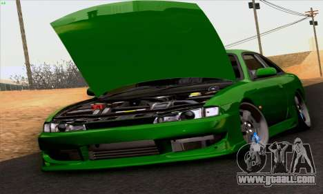 Nissan Silvia S14 Stance for GTA San Andreas right view