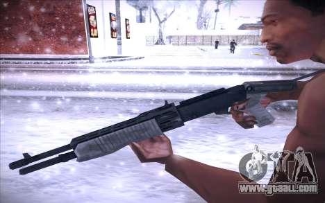 Spas 12 for GTA San Andreas third screenshot