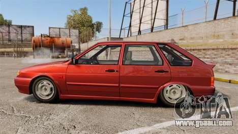 VAZ-2114 Samara-2 for GTA 4 left view