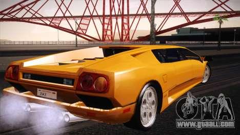 Lamborghini Diablo Stretch for GTA San Andreas left view
