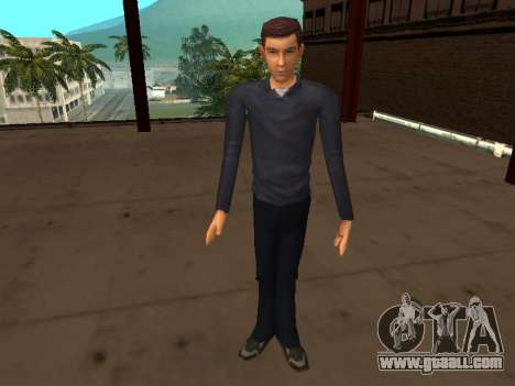 Peter Parker from the game Spider-Man 2 for GTA San Andreas forth screenshot