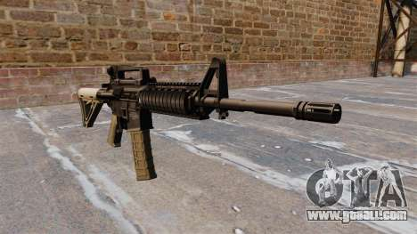 Automatic carbine M4 Chris Costa for GTA 4