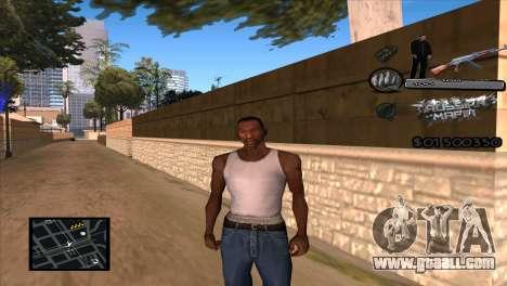 C-HUD Russian Mafia by Luigie for GTA San Andreas