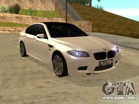 BMW M5 F10 V2.0 for GTA San Andreas right view