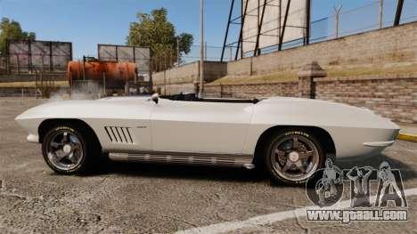 Chevrolet Corvette Stingray for GTA 4 left view