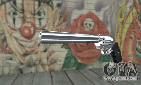 Chrome Desert Eagle for GTA San Andreas
