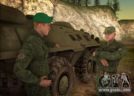 The Modern RUSSIAN Army for GTA San Andreas second screenshot