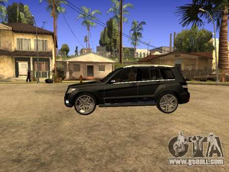 Mercedes-Benz GLK for GTA San Andreas back view