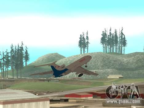 Tu-154 B-2 SCC of Russia for GTA San Andreas upper view