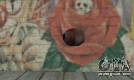 Eye Grenade for GTA San Andreas second screenshot