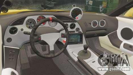 Toyota Supra 1994 (Mark IV) Slap Jack for GTA 4 side view
