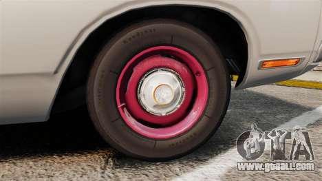 Dodge Polara 1971 for GTA 4 back view