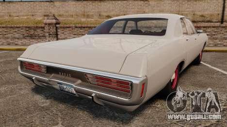 Dodge Polara 1971 for GTA 4 back left view