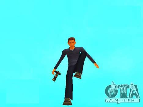 Peter Parker from the game Spider-Man 2 for GTA San Andreas second screenshot