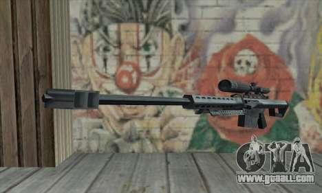 M82A1 Barret .50cal for GTA San Andreas