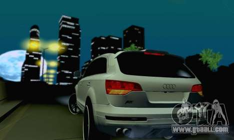 Audi Q7 for GTA San Andreas side view