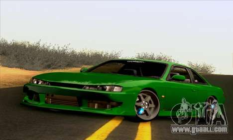 Nissan Silvia S14 Stance for GTA San Andreas