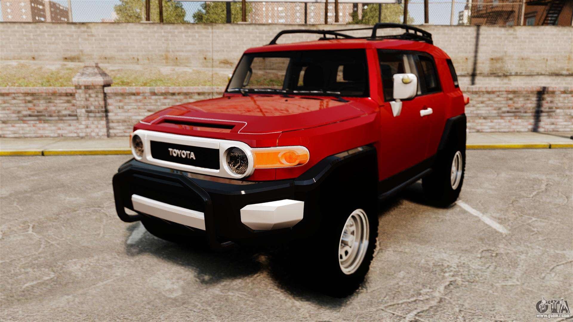 Toyota Fj Cruiser 2012 For Gta 4