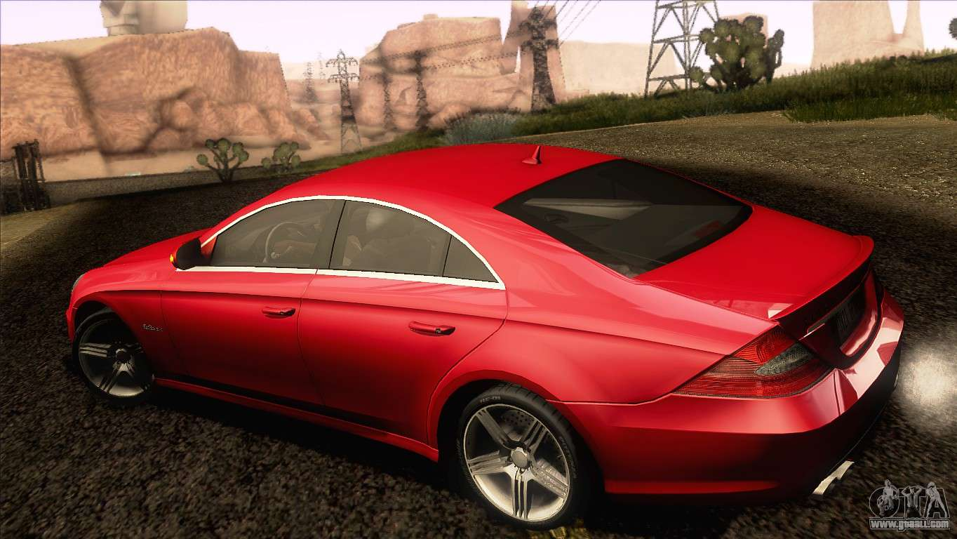 mercedes benz cls 63 amg 2008 for gta san andreas. Black Bedroom Furniture Sets. Home Design Ideas