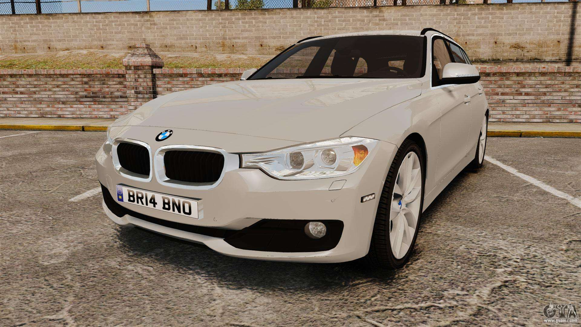 bmw 330d touring f31 2014 unmarked police els for gta 4. Black Bedroom Furniture Sets. Home Design Ideas