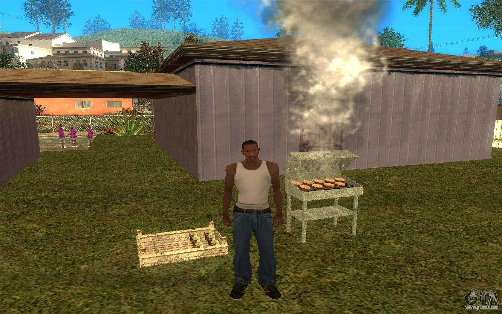 Barbecue For Gta San Andreas